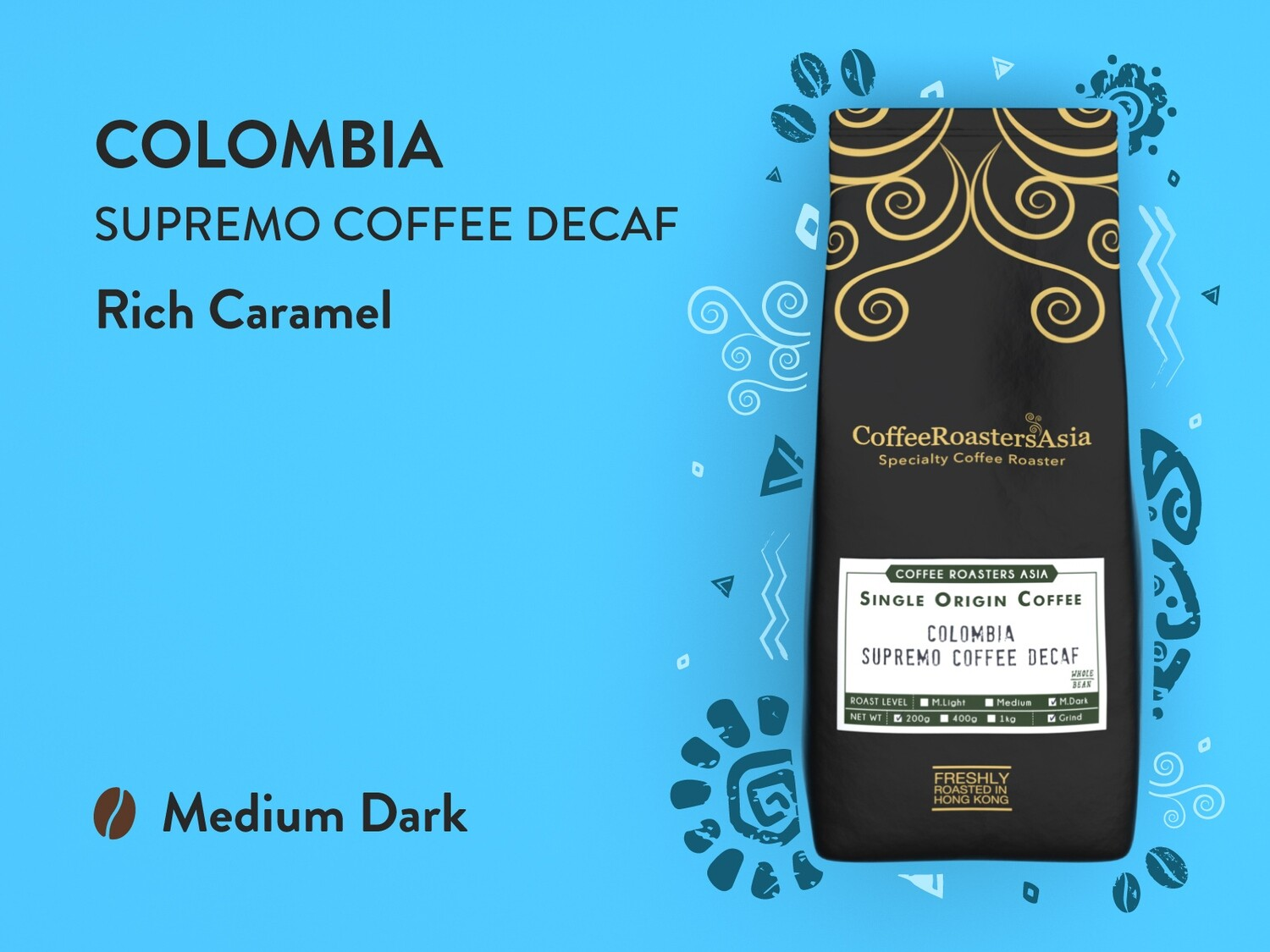Decaf Colombia Coffee