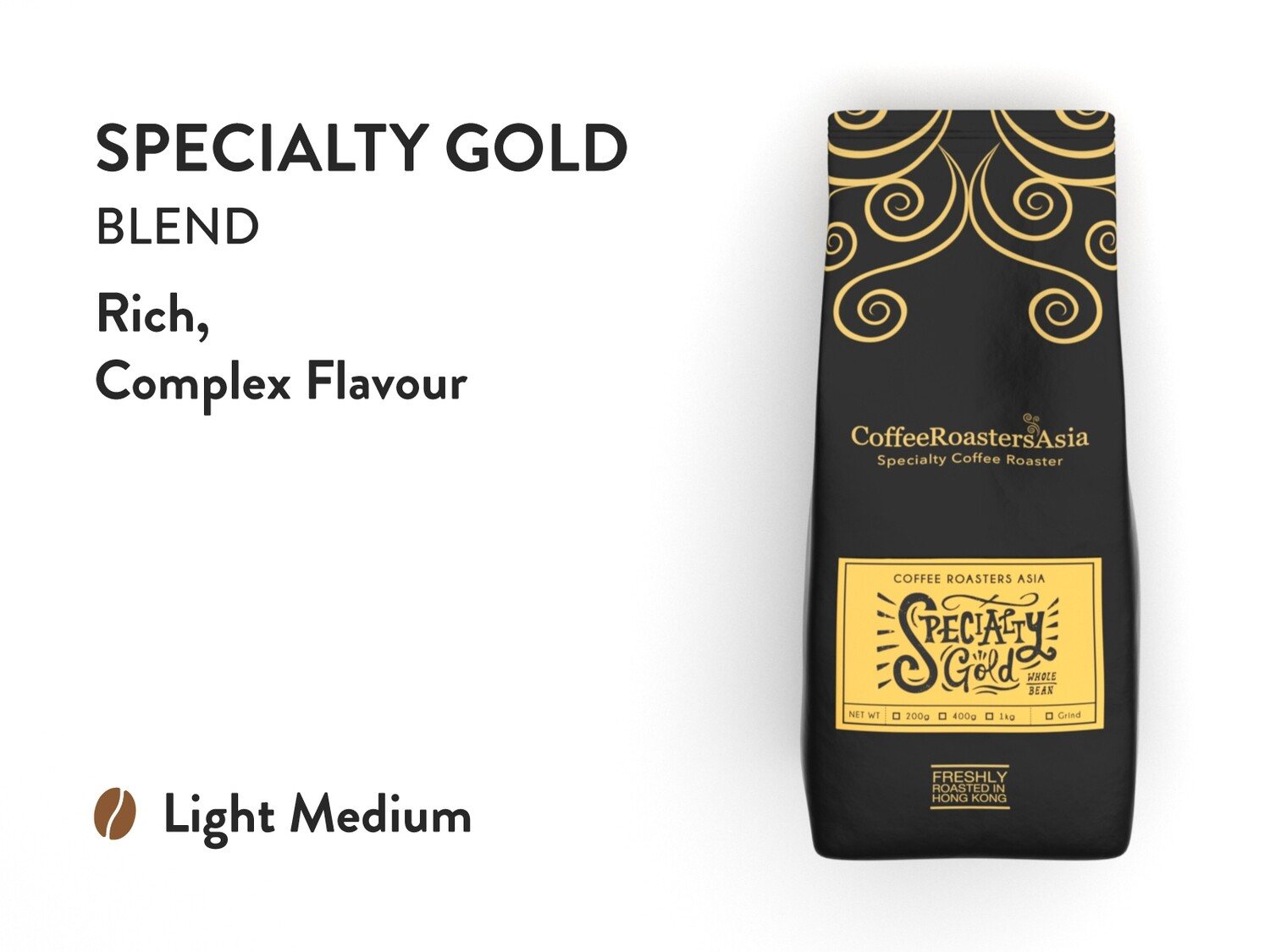 Specialty Gold Coffee (OC)