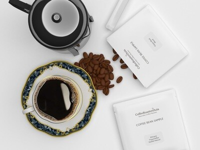 Free Coffee Bean Sample 30g - Yunnan Black Tea Coffee