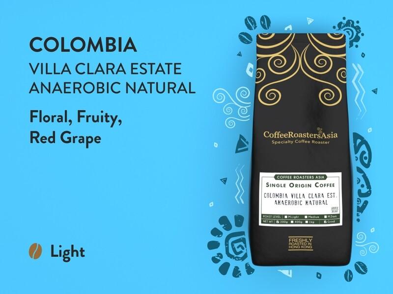 Colombia Villa Clara Estate Anaerobic Natural Coffee