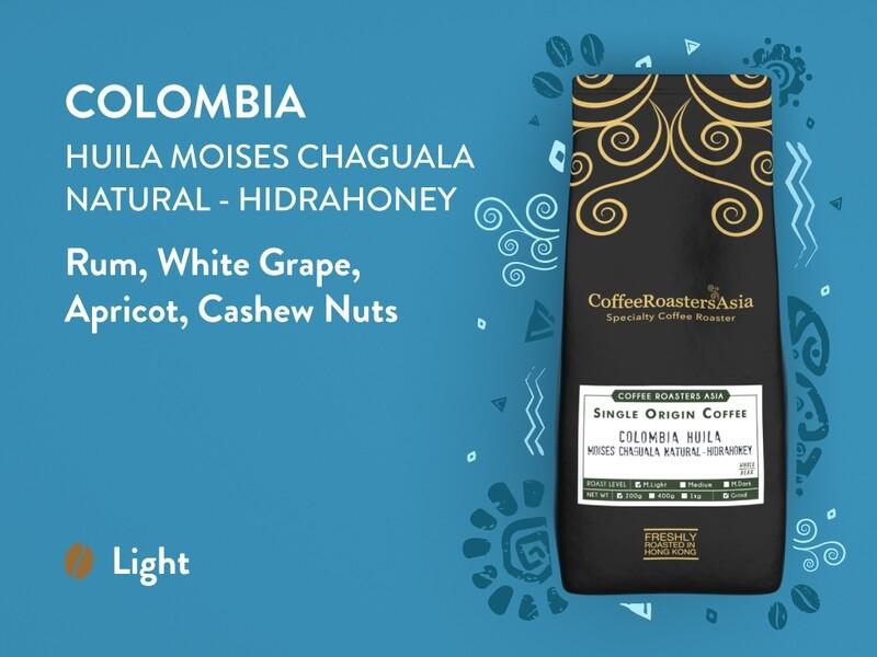 Colombia Huila Natural-Hidrahoney Coffee