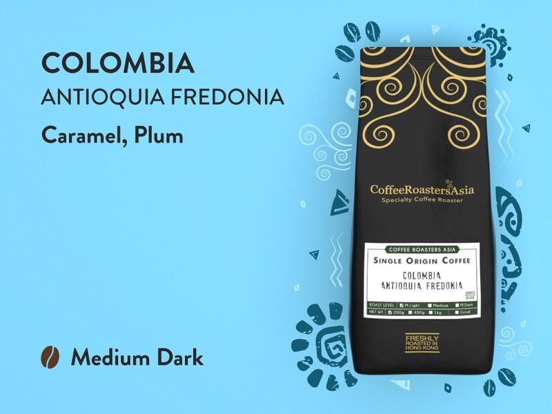 Colombia Antioquia Washed Coffee