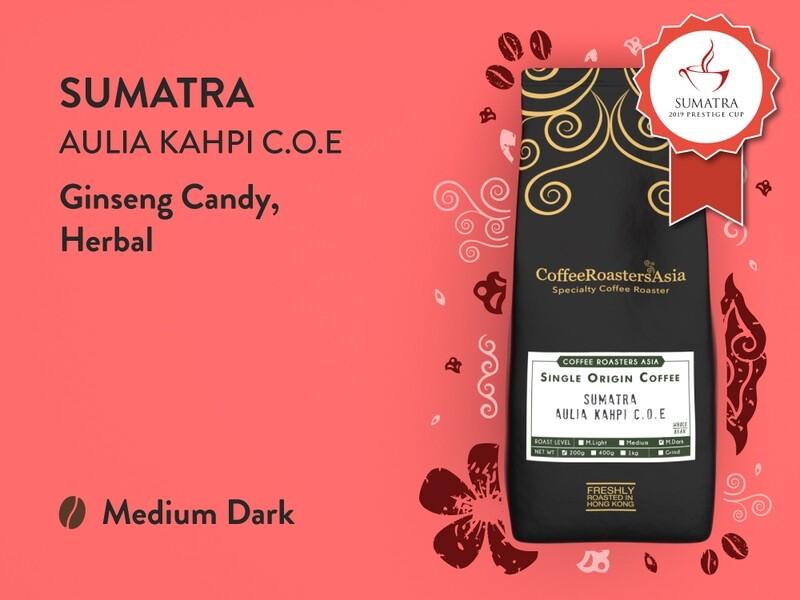 Sumatra Aulia Kahpi C.O.E Coffee