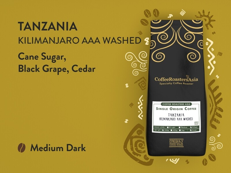 Tanzania Kilimanjaro AAA Washed Coffee