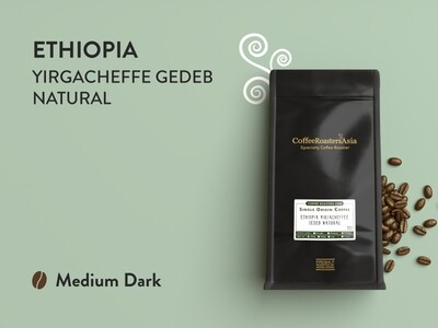 Ethiopia Yirgacheffe Gedeb Natural Coffee *D