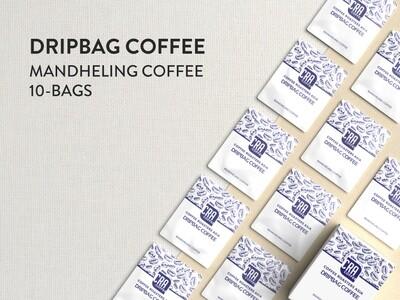 Mandheling Drip Bag Coffee - 10 bags