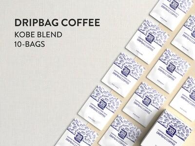 Kobe Blend Drip Bag Coffee - 10 bags