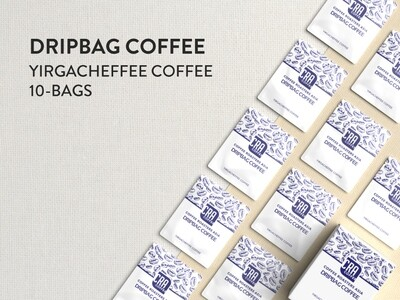 Ethiopia Yirgacheffee Drip Bag Coffee 10 bags