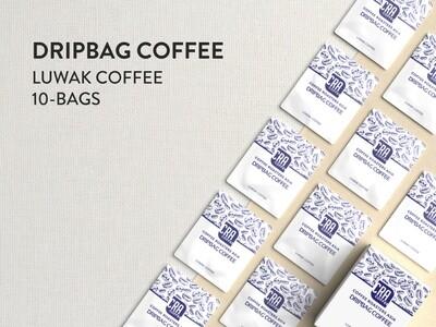 Kopi Luwak Drip Bag Coffee - 10 bags