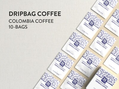 Colombia Drip Bag Coffee - 10 bags