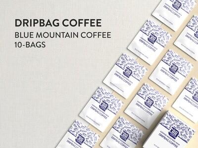 Blue Mountain Drip Bag Coffee - 10 bags