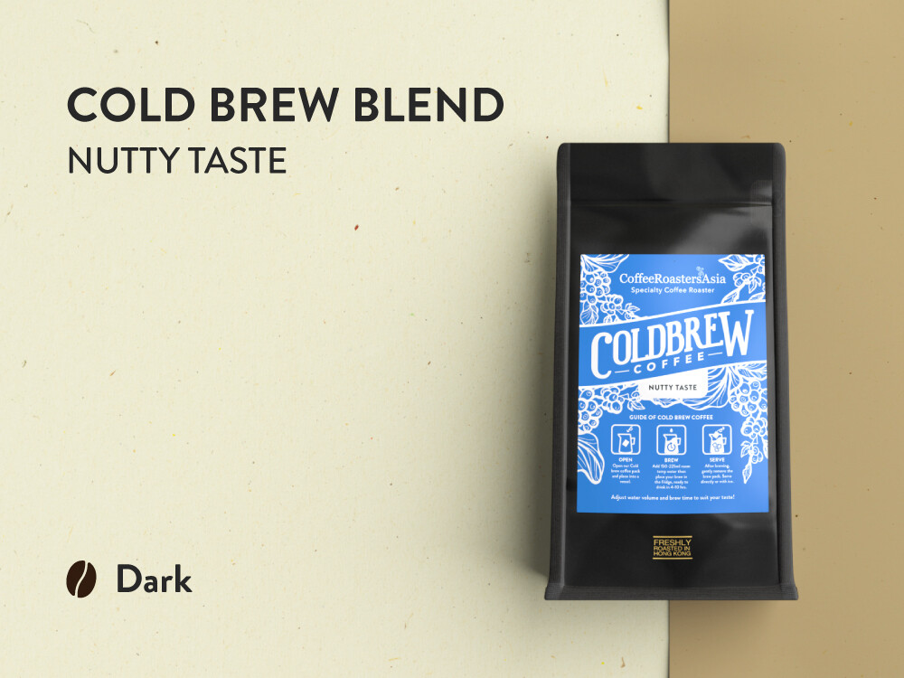 Cold Brew Blend Coffee - Nutty Taste
