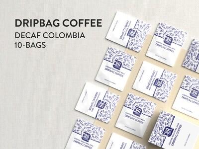 Decaf Colombia Drip Bag Coffee - 10 bags