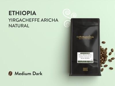 Ethiopia Yirgacheffe Aricha Natural Coffee *D