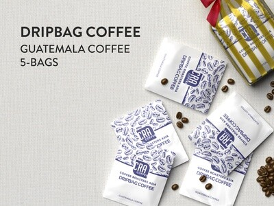Guatemala Drip Bag Coffee - 5 bags