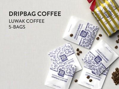 Kopi Luwak Drip Bag Coffee - 5 bags