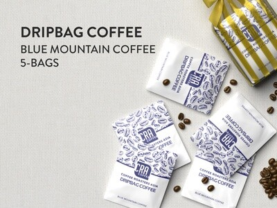 Blue Mountain Drip Bag Coffee - 5 bags