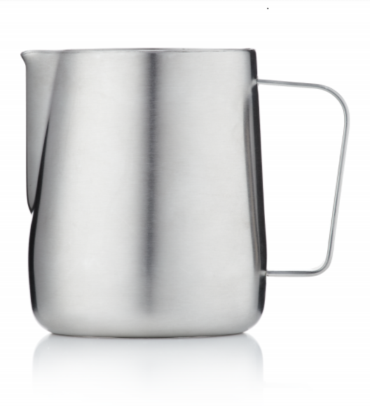 Barista & Co Milk Jug- Brushed Steel (600ml)