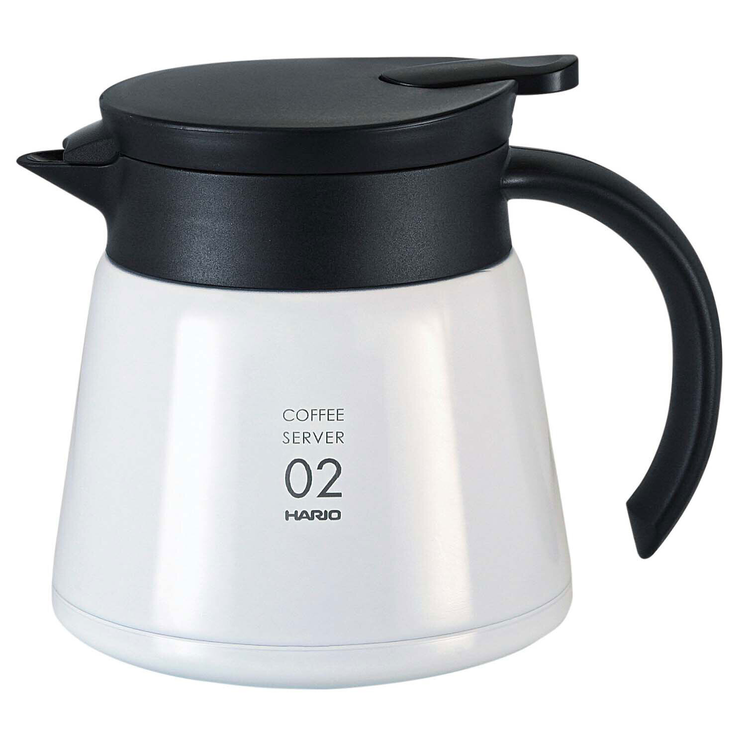 HARIO V60 Insulated Stainless Steel Server VHS-60W