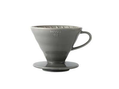 HARIO V60 Coffee Dripper 02 Ceramic - Grey