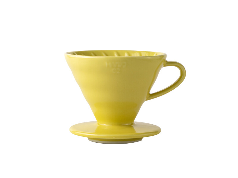 HARIO V60 Coffee Dripper 02 Ceramic - Yellow