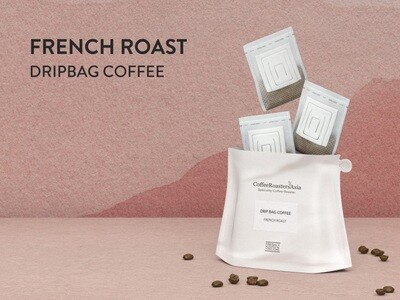 French Roast Blend Drip Bag Coffee