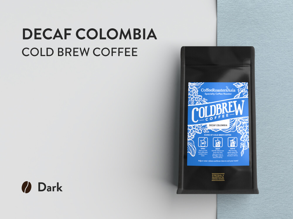 Decaf Colombia Cold Brew Coffee