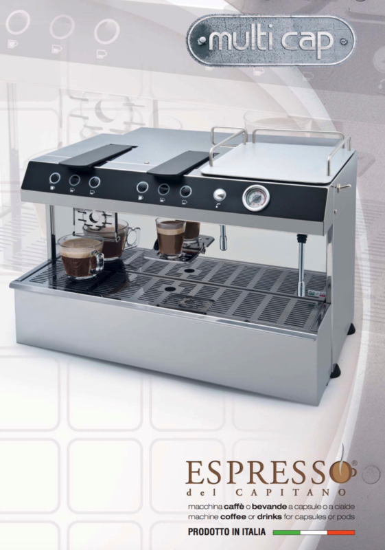 DEMO Unit - Capitani Multicap Coffee Capsule Machine