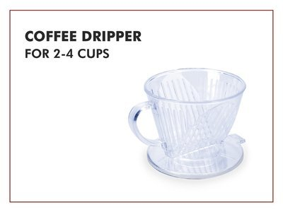Coffee Dripper for 2-4 cups