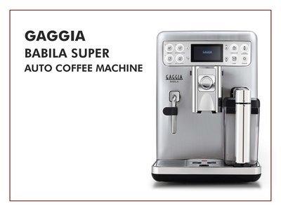 Gaggia Babila Super-Auto Coffee Machine