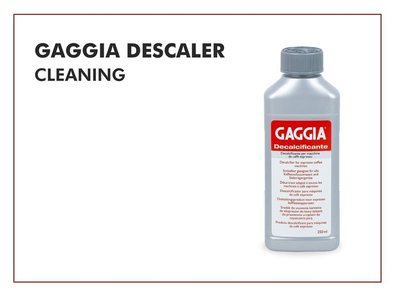 Gaggia Descaler (Cleaning)