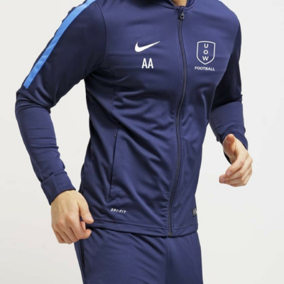 COVID SALE WAS 62.50 - UOWFC 2020 Nike Academy Dri Fit Trackjacket - Navy/Royal