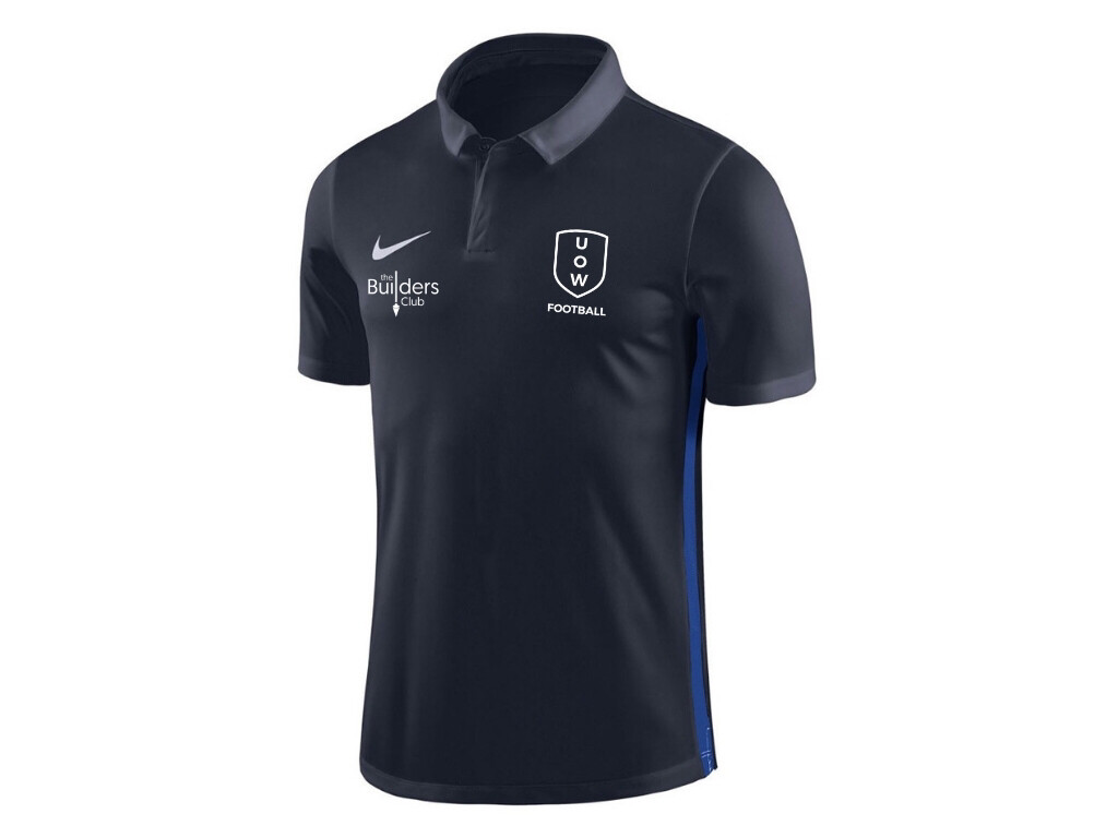 UOWFC 2020 Nike Dry Academy/Park Club Elite Polo - Navy