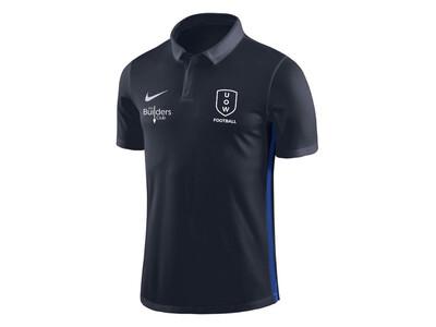 UOWFC 2020 Nike Dry Academy/Park Club Elite Polo - Navy