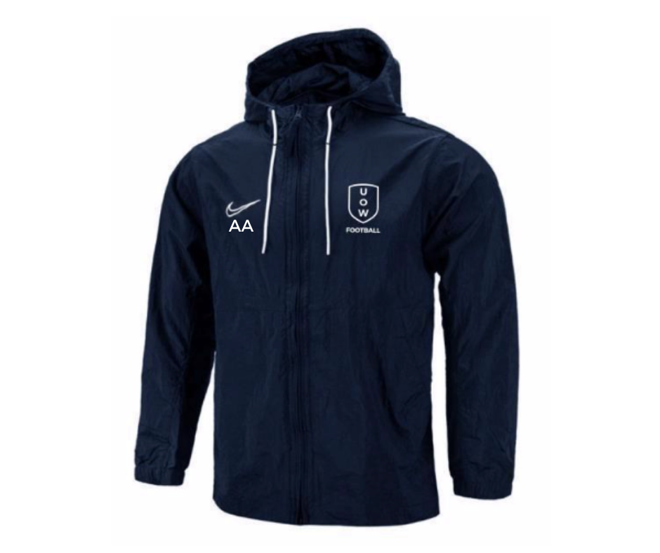 UOWFC 2020 Nike Academy 19 Spray Jacket - Navy