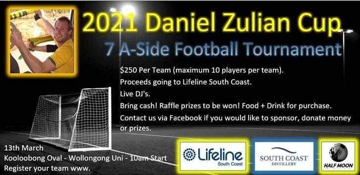 Daniel Zulian Cup 2021 Team Entry