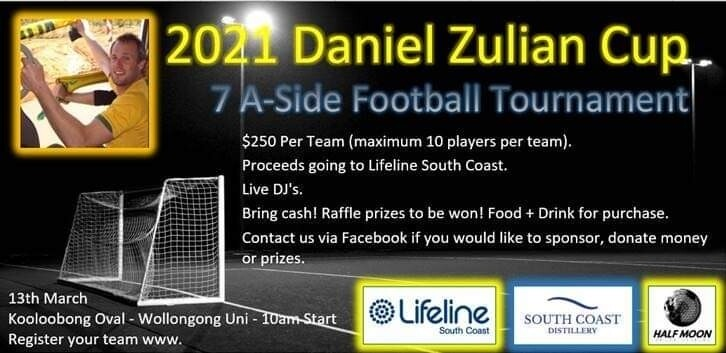 Daniel Zulian Cup 2021 Team Entry
