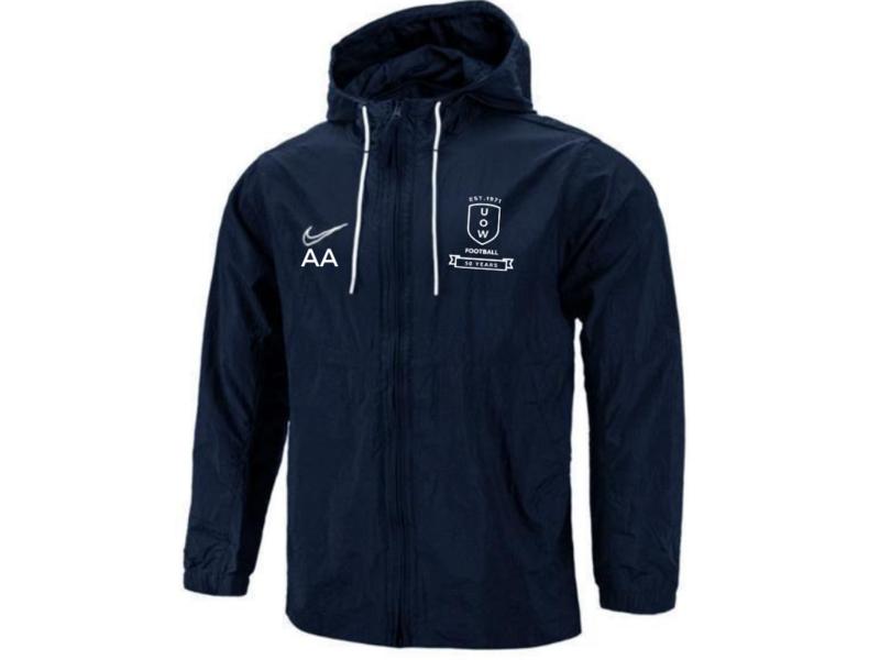 UOWFC 2021 Nike Academy Spray Jacket - Navy