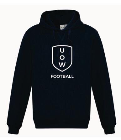 UOWFC Navy Basic Club Hoodie