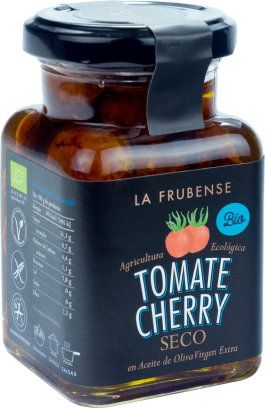 Tomate Cherry seco en aceite de oliva virgen extra