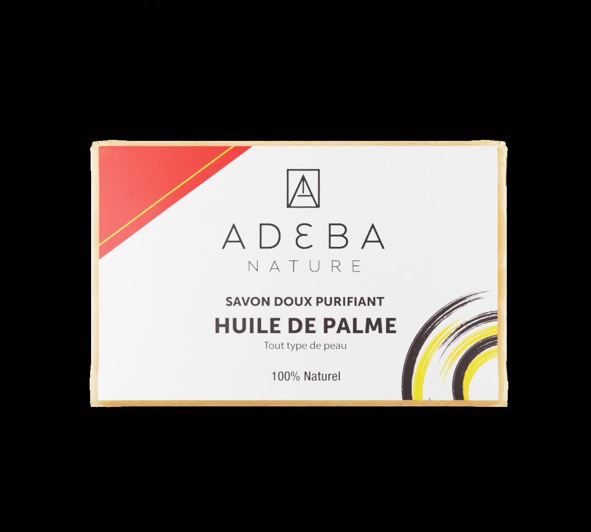 Savon à l'huile de palme (avec ou sans parfum)