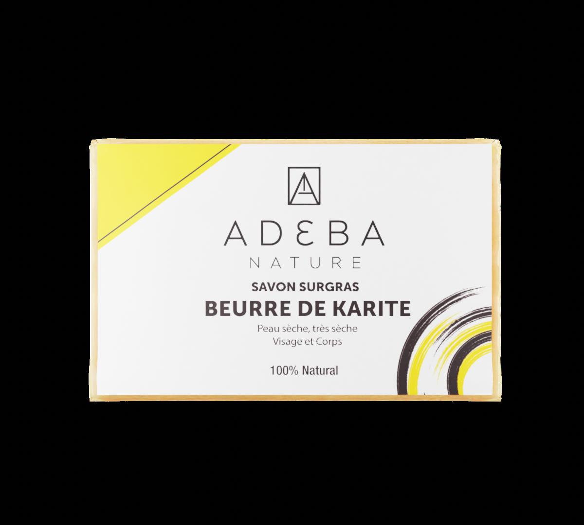 Savon au beurre de karité (avec ou sans parfum)