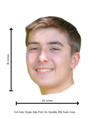 BIG BIG Head Cutout