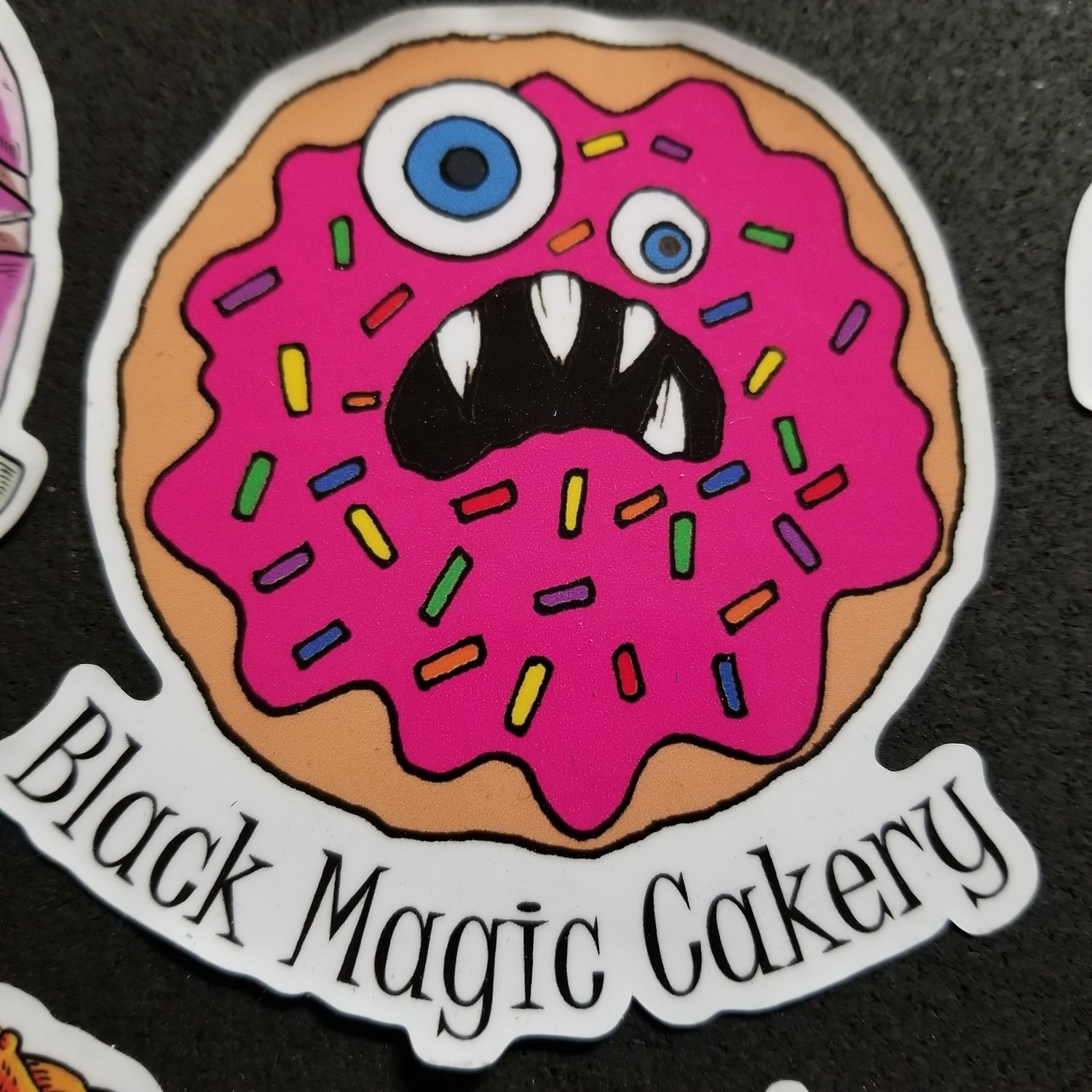 Monster Donut (sticker)