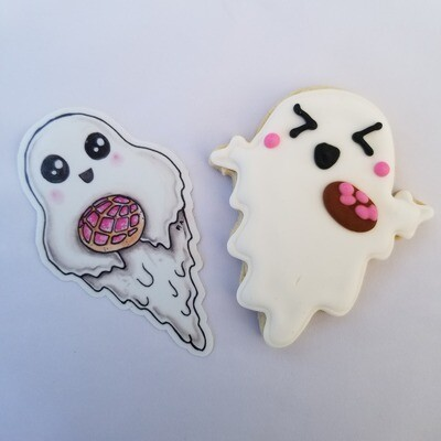 Concha Ghost (sticker only)