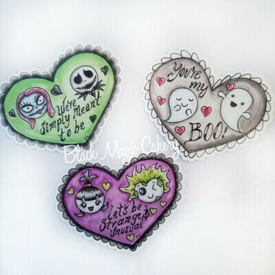 Horror Love Sticker