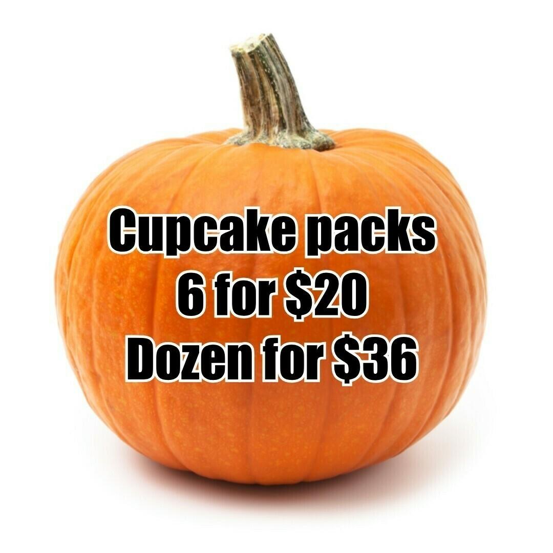 Cupcake sampler 1 dozen (pickup only)