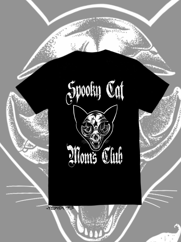 Spooky cat mom (shirt)