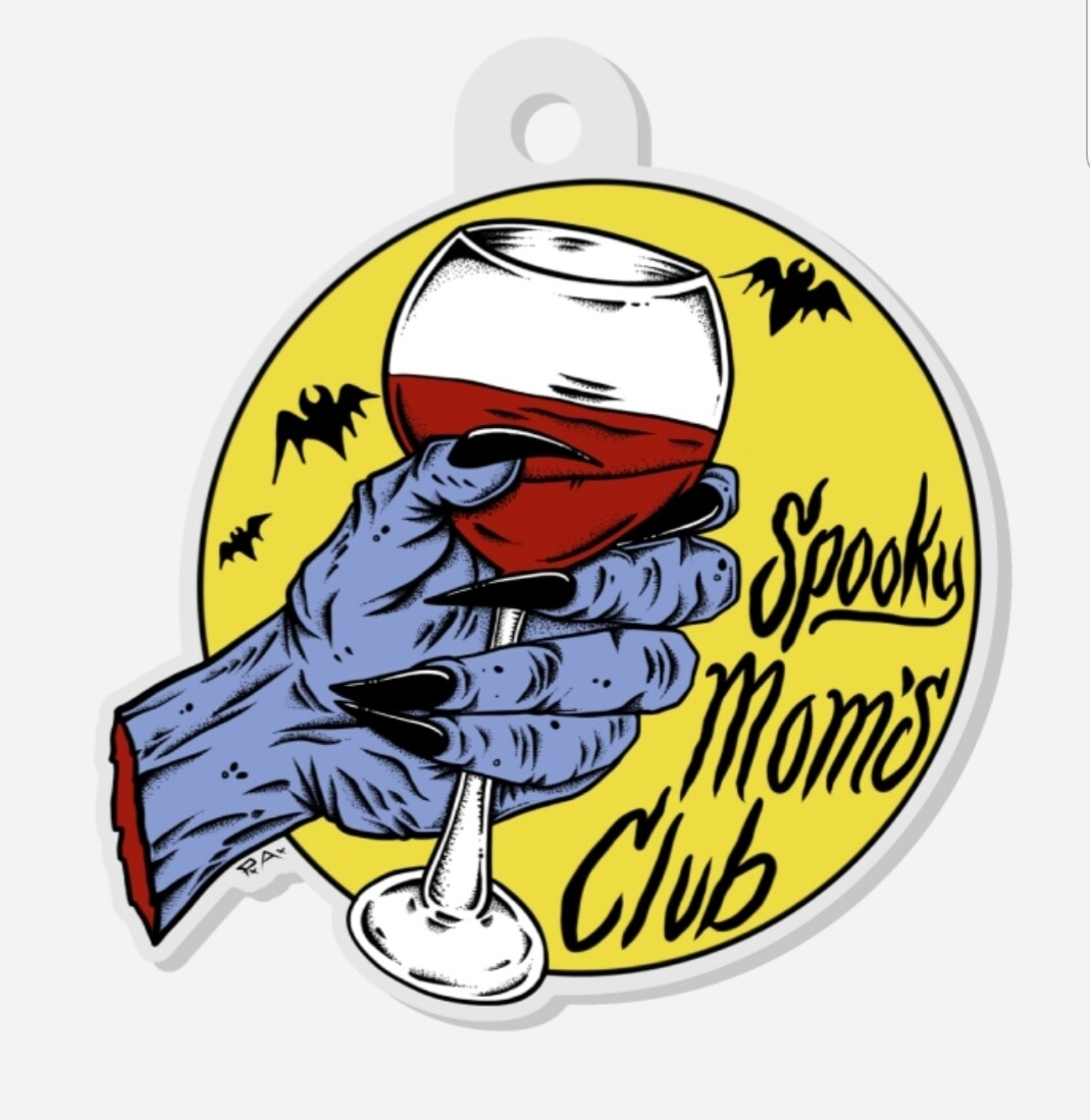 SMC- wine (keychain)