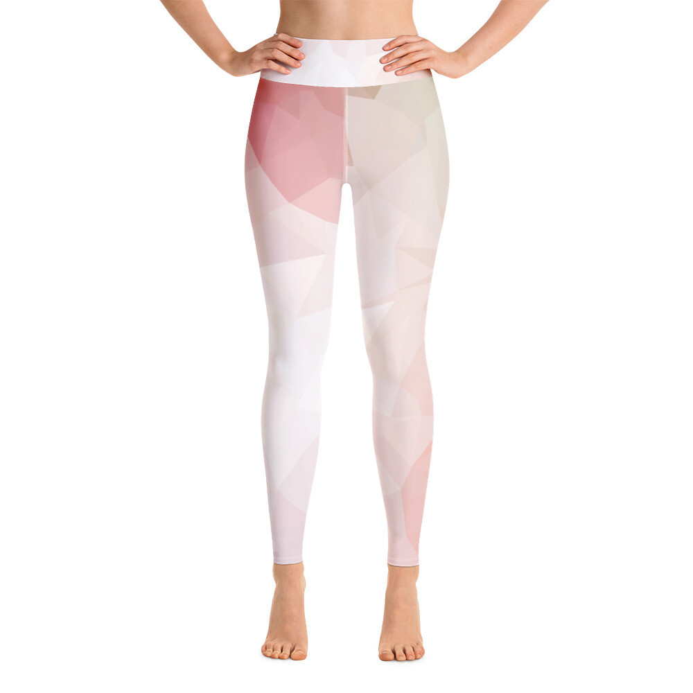 Modern Full Colour Yoga Leggings with Pocket